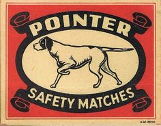 Pointer Safety Matches by ZJVintage, via Flickr