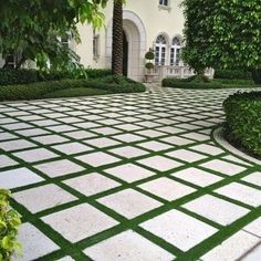 I love seeing a driveway broken up and softened with grass... #homedesign #lifestyle #style #designporn #interiors #decorating #interiordesign #interiordecor #architecture #landscapedesign