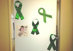 Our office door in support of Go Green For Kayla! Sending Love and Prayers! City Of Cambridge, Go Green, Prayers, Doors, Home Decor, Decoration Home, Room Decor, Prayer, Beans