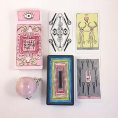 thefoxtarot Ok but how amazing is the #hollysimpletarot ?! Thanks @hollysimpletarot I love the deck!! ❤️ #indietarot #tarot