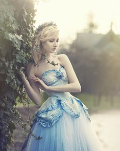 """Maria Amanda on Instagram: """"""""Cinderella"""" ✨ From my most recent photo shoot. Wearing the most magical dress by @_fairytas.  Fantastic photography by @nini29dk, and beautiful hair and makeup done by @suror.  Hope you like it. :3"""""""