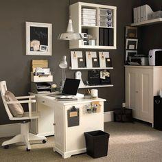 Small Office Ideas - http://www.hood-scoop.com/6008/small-office-ideas #homeideas #homedesign #homedecor