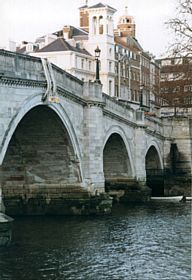 Bridge Street, Richmond upon Thames - lived in a flat just a few blocks from this bridge for two months while working