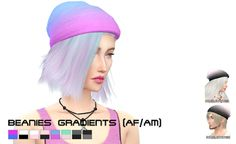 My Sims 4 Blog: Accessories - Hats
