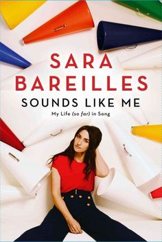 """""""Sounds Like Me: My Life (So Far) In Songs"""" by Sara Bareilles ... The five-time Grammy Award-nominated and multi-platinum music artist presents a series of confessional writings about the searches for growth, healing and self-acceptance behind some of her most popular songs.  Find this book here @ your Library http://hpl.iii.com/record=b1250186~S1"""