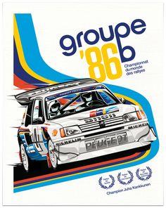 www.eWindowTint.com | Fr4p.com #group b,  peugeot,  groupe b,  poster