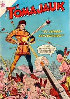 Gallery : Cover Art Gallery : T : Tomahawk Gallery : Cover Art Gallery : T : Tomahawk Old Comic Books, Comic Book Pages, Old Comics, Dc Comics Art, Superman Family, Western Comics, Comic Covers, Book Covers, Silver Age