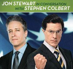 Join a Conversation Between Jon Stewart and Stephen Colbert at The Wellmont