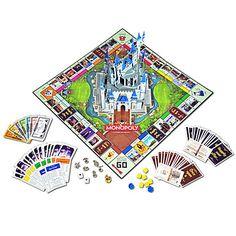 The Disney Theme Park Edition III Monopoly | Board Games | Disney Store