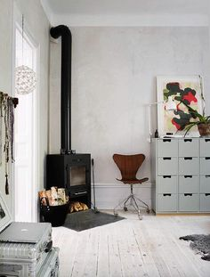 who doesn't want a wood burning stove in their home?