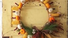 The rich colors of autumn set the tone for decorating with gourds, leaves, pumpkins and other seasonal materials.