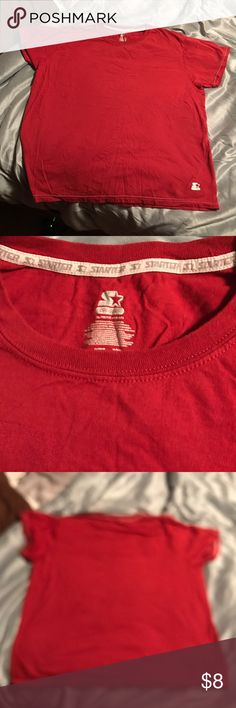 Mens XL red tshirt New, size XL Shirts Tees - Short Sleeve