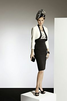 70782 _ Cream/Black (Condici) - Mother of the Bride - Compton House of Fashion