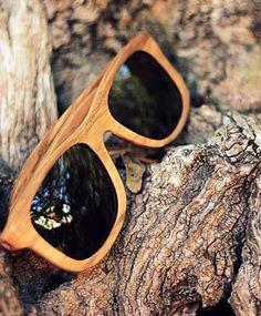 Toffe houten zonnebrillen