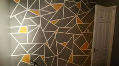 The new feature wall in my bedroom, absolutely in LOVE with it !!