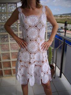 crochet dress for sale at Dawanda