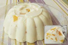 Γλυκό γιαουρτιού με ροδάκινα. Γλυκό ψυγείου δροσερό και χωνευτικό με γιαούρτι και ροδάκινο!
