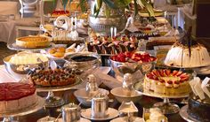 Afternoon tea at the Alvear Palace in Argentina.
