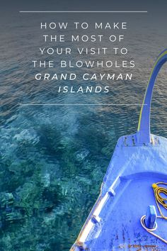 Blowholes attraction is a must see during Grand Cayman stay - Cayman Bella Vista Grand Cayman Island, Cayman Islands, Construction Services, Water Sports, Vacations, Caribbean, Tips, How To Make, Holidays