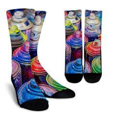 Grafitti Paint Socks