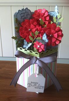 Flower Box. Just a change from the Card in a Box style.