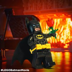 Here to save her day. #LEGOBatmanMovie