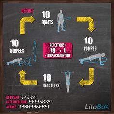 WOD de CrossFit au poids du corps inspiré de l'entraînement de superman !