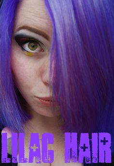 Lilac Hair with Directions