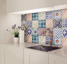 Backsplash Sticker Tile Decals Peel And Stick Backsplash Bathroom Decals, Tile Decals, Vinyl Tiles, Nursery Decals, Wall Decal, Farmhouse Sink Kitchen, Farmhouse Decor, Kitchen Decor, Cocina Peculiar