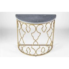 Gabby Rodger Demilune Side Table   Accent & Side Tables   Living Room   Furniture   Candelabra, Inc.