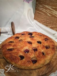 Fulvia's Kitchen - Focaccia dolce sofficissima all'uva