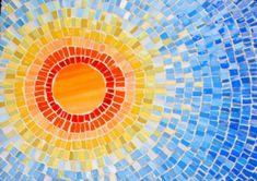 here comes the sun ♥ Sun Mosaic