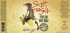 mybeerbuzz.com - Bringing Good Beers & Good People Together...: FLying Dog - Secret Stash Fresh Hop Ale & Nice Hol...
