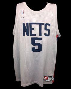 Jason Kidd New Jersey Nets Nike Rewind Swingman Jersey SEWN 3XL XXXL +2