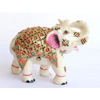 Marble Elephants - Online shopping INDIA - Buy Handicrafts,Gifts, Crafts, home decor, Decorative, Indian Handicrafts, Paintings, Wall decor Items