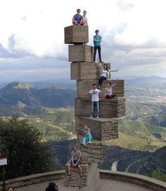 Montserrat, Barcelona - Spain: Lida was an intern in Barcelona, Spain in autumn of 2013.