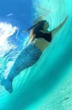 Mariana's Tidal Teal Mermaid Tail