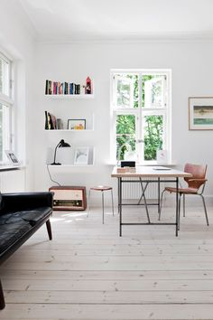Workspace. House outside Copenhagen by Morten Holtum.