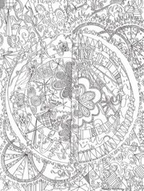 Doodle Art Alley - tons of free printable doodle art for kids to color