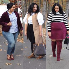 3 Looks to Wear on Thanksgiving Http;//beauticurve.com