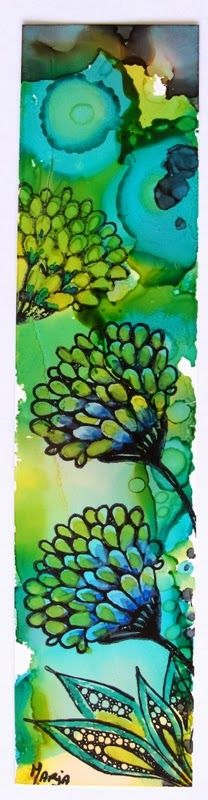 Marja's Stamp Addiction / Alcohol Ink