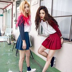 Korean Fashion #chuu