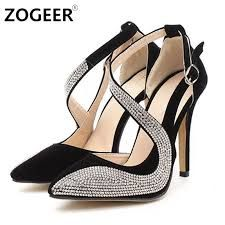 77fe73c1066 Lovely party heel elegant dress shoes for the modern fashionista Beautiful  rhinestones offer a shiny stylish look Perfect for a parties or special  events ...