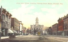 West Main Street, Newark, Ohio 1909
