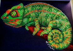 Chameleon 3 by Wendy P.