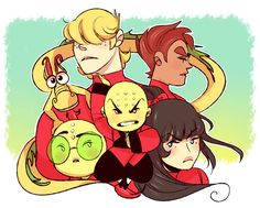 Previously on Xiaolin Showdown
