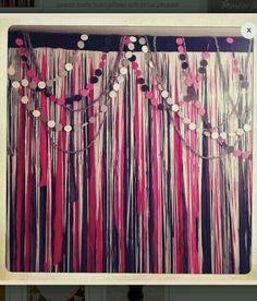 String draping