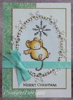 A Scrapjourney: Snowflake Mouse
