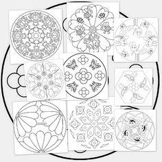 Recursos para el aula: Mandalas de Primavera