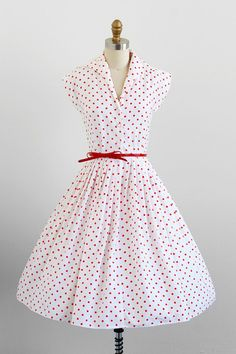 Quality Time: vintage 1950s dress